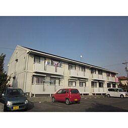 アワヤハイツA棟[2階]の外観