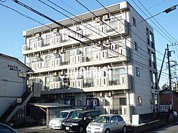 栢森ハイツB[4階]の外観