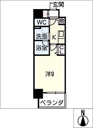 仮)押切2丁目マンション[2階]の間取り