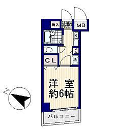 ヴェルステージ中野新橋[2階]の間取り