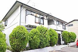 岡山県倉敷市船穂町船穂の賃貸アパートの外観
