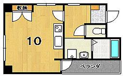 amistad洛[3階]の間取り
