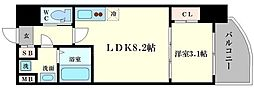 SERENiTE福島scelto[7階]の間取り