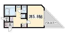 ロイヤルヒル神戸三宮II[2階]の間取り