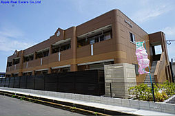 福岡県遠賀郡水巻町二東1丁目の賃貸アパートの外観