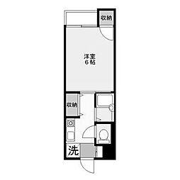 長田第二ビル[2階]の間取り