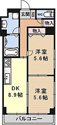 クッキィーIII[305号室号室]の間取り