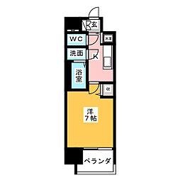 メインステージ名古屋 ノースマーク[7階]の間取り
