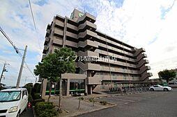 岡山県岡山市中区桑野の賃貸マンションの外観