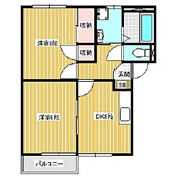 New Espace[1階]の間取り