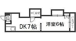 メゾン16[4階]の間取り