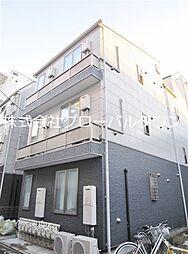 東京都北区昭和町1丁目の賃貸アパートの外観