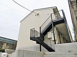 千葉県千葉市花見川区花園5丁目の賃貸アパートの外観