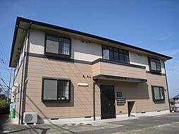 奈良県奈良市左京4丁目の賃貸アパートの外観