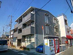 大阪府大阪市東住吉区住道矢田2丁目の賃貸マンションの外観