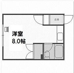 メゾン山田[205号室]の間取り