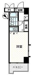 ソシアーレミラン武蔵浦和パートII[208号室]の間取り