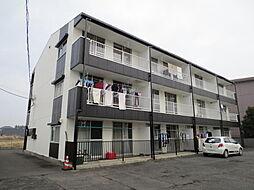 茨城県ひたちなか市東大島2丁目の賃貸マンションの外観