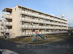 京都府城陽市平川広田の賃貸マンションの外観