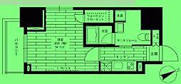 東京都港区六本木の賃貸マンションの間取り