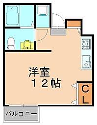 リプロ博多東[2階]の間取り