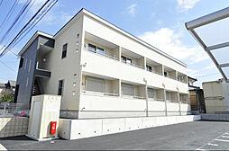 埼玉県東松山市新宿町の賃貸アパートの外観