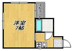 セルジュ今川II[3階]の間取り