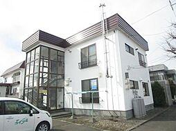 北海道札幌市北区篠路二条2丁目の賃貸アパートの外観