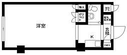 東京都練馬区小竹町1丁目の賃貸マンションの間取り