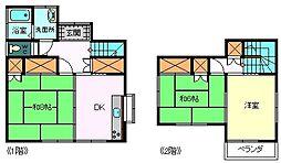 [一戸建] 静岡県富士市石坂 の賃貸【/】の間取り