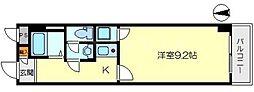 ヴェローノ新大阪南[5階]の間取り