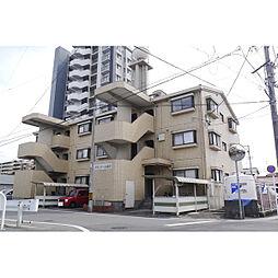 愛知県北名古屋市西之保の賃貸マンションの外観