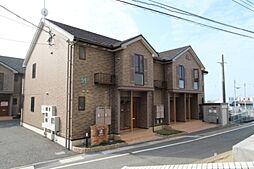 福岡県遠賀郡遠賀町大字尾崎の賃貸アパートの外観