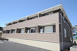 千葉県柏市花野井の賃貸アパートの外観