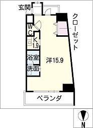 S−FORT葵一丁目[10階]の間取り