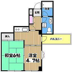 ストリートライフ吉祥寺[3階]の間取り