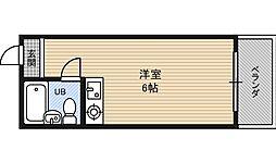 コスモメイト野田[4階]の間取り