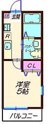 ハーミットクラブハウス六角橋IIIA棟(仮)[3階]の間取り