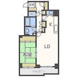 SタウンB棟[2階]の間取り