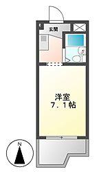 ドール堀田I[2階]の間取り