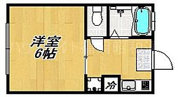 日永田コーポ[2階]の間取り