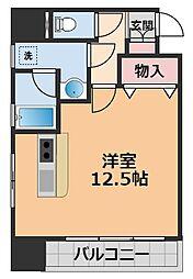 日興ビル持田[402号室]の間取り