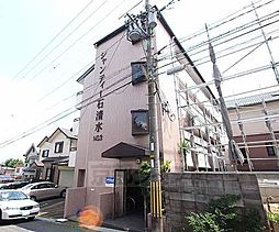 京都府八幡市男山吉井の賃貸マンションの外観