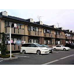岐阜県瑞穂市唐栗の賃貸アパートの外観