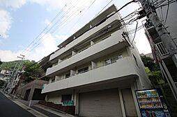 兵庫県神戸市灘区鶴甲3丁目の賃貸アパートの外観