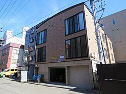 北海道札幌市中央区南五条西9丁目の賃貸アパートの外観