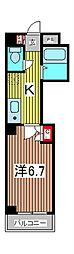 アクシーズIV[4階]の間取り