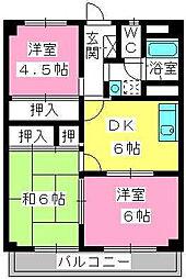 第一大野ビル[3階]の間取り