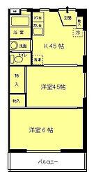 相模原第一ハウス[3階]の間取り