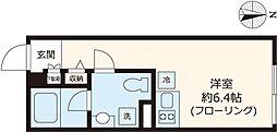 Centelleo練馬 3階ワンルームの間取り